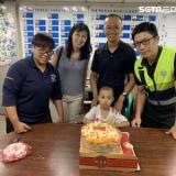 當年救護車出生!5歲童返出生地慶生