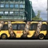 超棒的公車彩繪