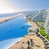 智利建成世界最大游泳池