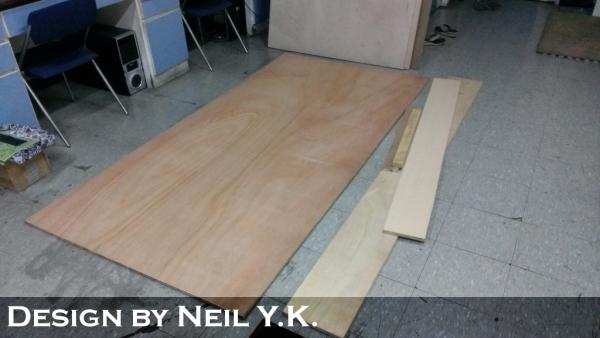 自制木工裁桌 diy
